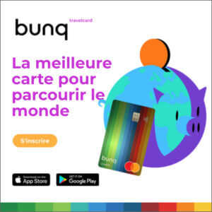 bunq neobanque travel card